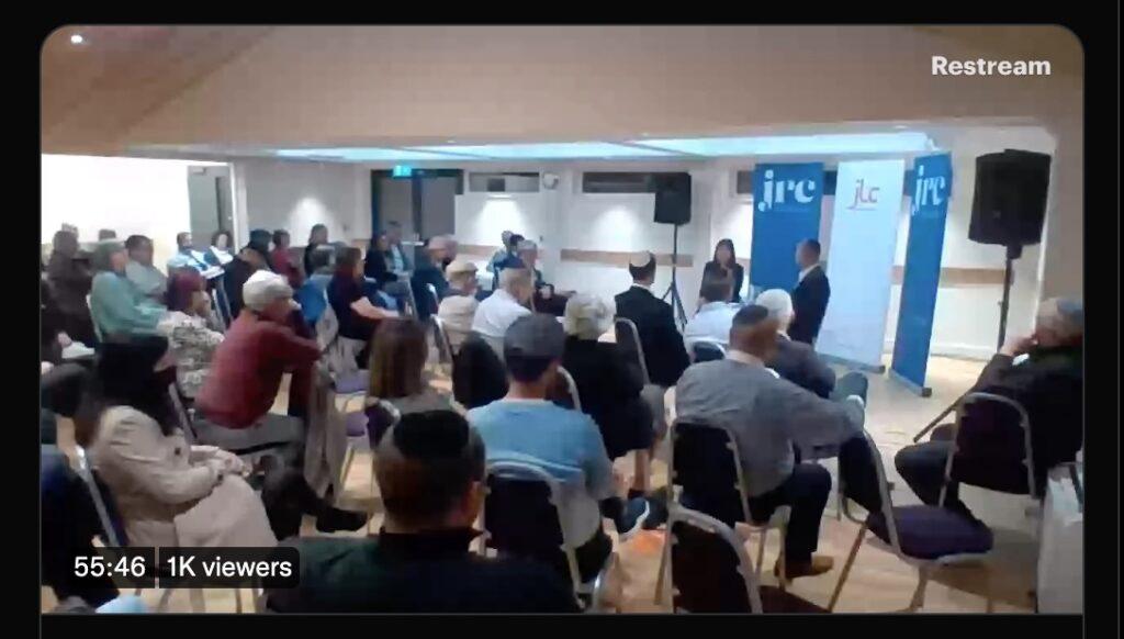 Shadow Foreign Secretary Lisa Nandy interviewed by JRC Chairman Mark Adlestone